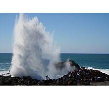 Crashing Wave At Kiama Photographic Print