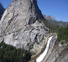 Half Dome at Yosemite National Park by Laurie Puglia