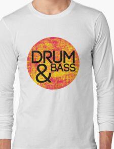 Drum & Bass (fire) Long Sleeve T-Shirt
