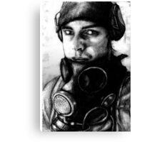 Cell Runner Canvas Print
