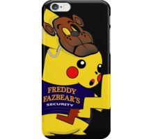 PikaSecurity iPhone Case/Skin