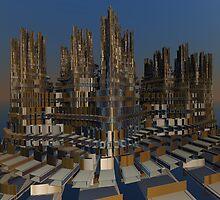 Metropolis by Dave Moilanen