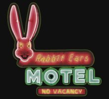 Rabbit Ears Motel by TeeArt