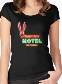 Rabbit Ears Motel Women's Fitted Scoop T-Shirt