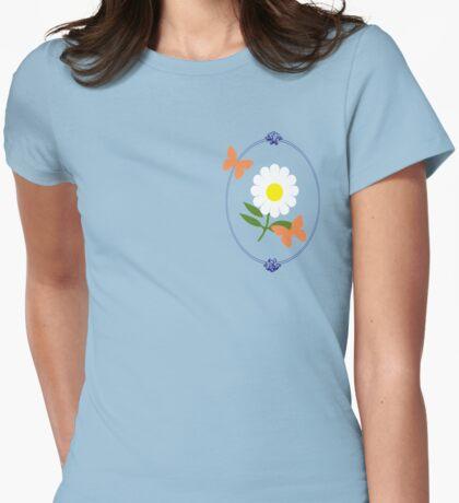 Daisy Butterfly Frame T-Shirt