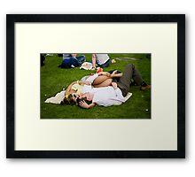 British summer Framed Print