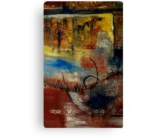 Raw Emotions Canvas Print