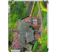 Gardener's cottage iPad Case/Skin