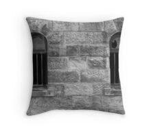 Jailhouse Windows Throw Pillow