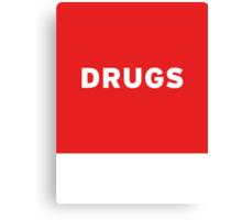 Drugs | Lust Brick Canvas Print