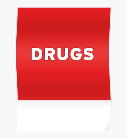Drugs | Lust Brick Poster