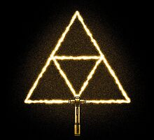 Triforce Sabre! (Gold) by Brandon Wilhelm