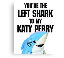 Left Shark Canvas Print