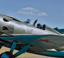 "Polikarpov I-16 ""Rata"" D-EPRN red 9 Sticker"