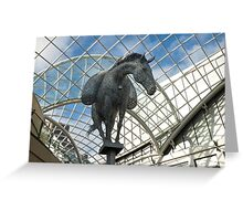 Horse in the sky. Greeting Card