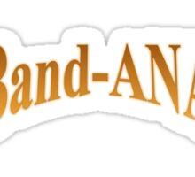 Band-ANA logo Sticker