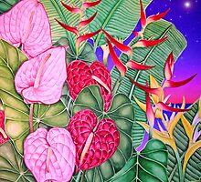 Anthurium Dusk by joeyartist
