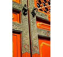 Gate at the Forbidden City Photographic Print