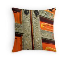 Gate at the Forbidden City Throw Pillow
