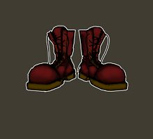 Big Oxblood Boots Unisex T-Shirt