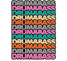 Drum & Bass (fierce) Photographic Print