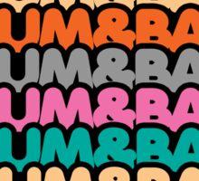 Drum & Bass (fierce) Sticker
