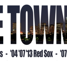 TITLE TOWN USA - New England Patriots, Boston Red Sox, Bruins, Celtics Sticker