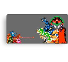 Nintendo Fight Canvas Print