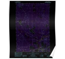 Maine USGS Historical Map Ashland 104875 1986 24000 Inversion Poster
