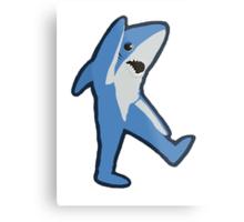 Left Shark Metal Print
