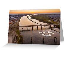 Visit Greymouth Greeting Card