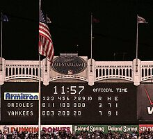 Last Score at Yankee Stadium by mikepaulhamus