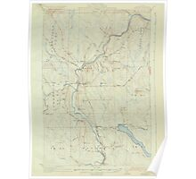 Maine USGS Historical Map Ashland 306445 1934 62500 Poster