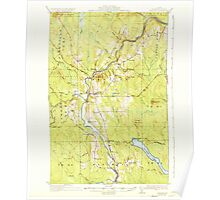 Maine USGS Historical Map Ashland 460115 1934 62500 Poster