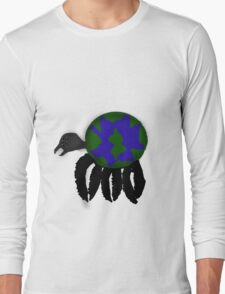 Globe Spider Long Sleeve T-Shirt