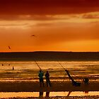 Paddlers and Anglers by shalisa