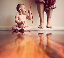 {she has got me wrapped around her little finger} by Lucy Wardle