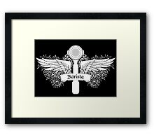 Portafilter Power White Edition Framed Print