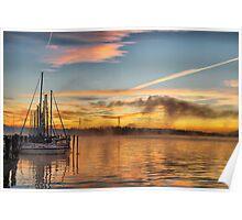 Sunrise at Lake Norman I Poster