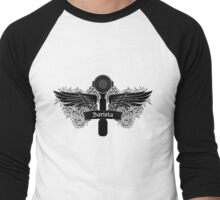 Portafilter Power Black Edition Men's Baseball ¾ T-Shirt