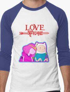 LOVE TIME Men's Baseball ¾ T-Shirt