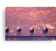 Riveted! Canvas Print