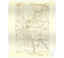 Maine USGS Historical Map Ashland 460116 1934 62500 Poster