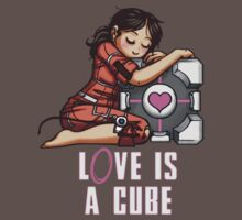L0VE is a CUBE (Portal 1 ver.) T-Shirt