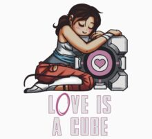L0VE is a CUBE (Portal 2 ver.) Kids Clothes