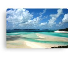 Beautiful one day.. perfect the next!  Canvas Print