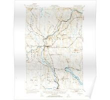 Maine USGS Historical Map Ashland 460117 1953 62500 Poster