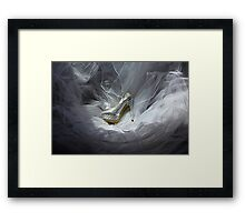 Wedding Shoe Vortex Framed Print