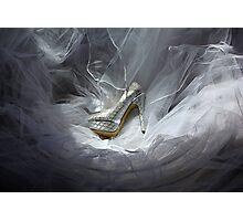 Wedding Shoe Vortex Photographic Print