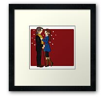 RxB Hearts Framed Print